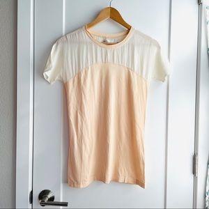 Madewell Hi-Line Silk T-shirt
